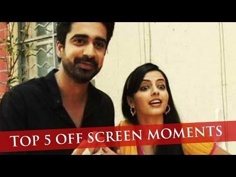 Shlok and Astha's Top 5 Off-Screen Moments - Iss Pyaar Ko Kya Naam Doon... Ek Baar Phir