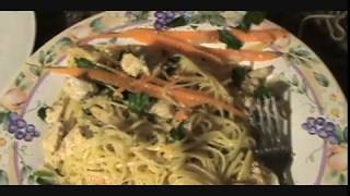 Aglio E Olio Linguine Recipe - Chicken Garlic Oil And Pasta
