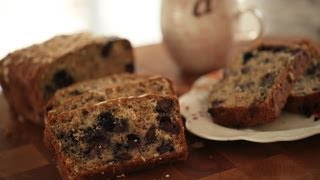 Banana Bread W/ Blueberry & Oats Recipe || Kin Eats