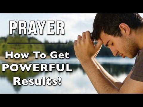 PRAYER - How To Get Powerful Results! | Jane Glenchur