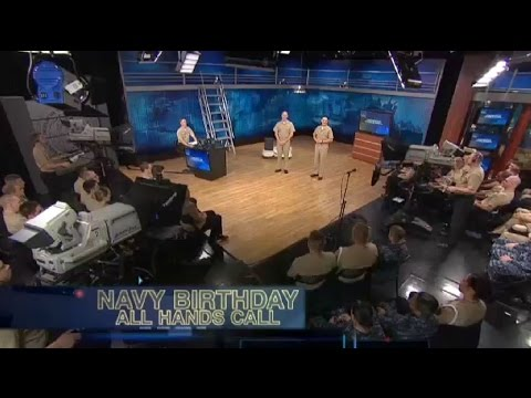 Navy Birthday All Hands Call: with CNO Admiral Greenert and MCPON Stevens