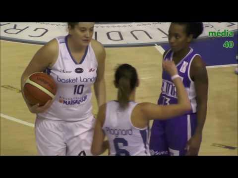 LFB Basket-Landes vs Lattes-Montpllier 14 janvier 2017