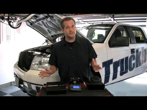 How to Install Horntones MP3 Player Ford F-150 Motorz #6