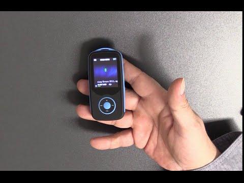 AGPTek® MP3 Player - 8GB intern + 64GB - Bluetooth Radio - Modell A06