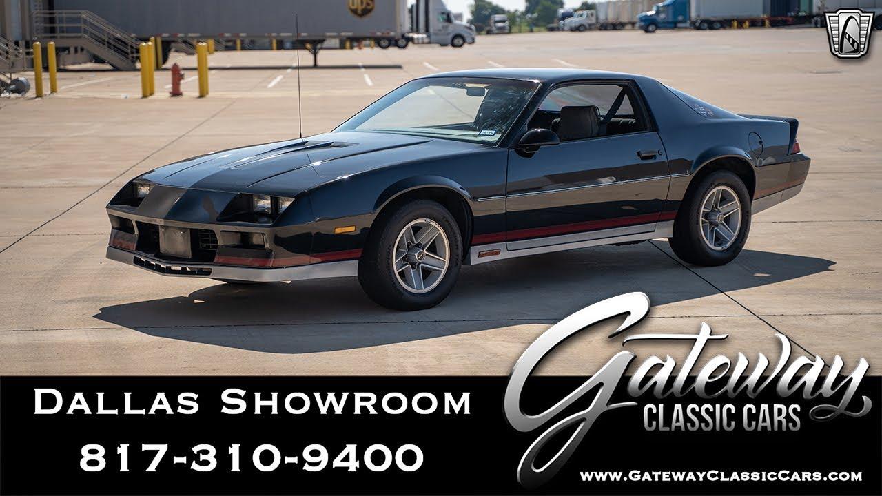 1983 Chevrolet Camaro Z28 Gateway Classic Cars Of Dallas 1044 Youtube