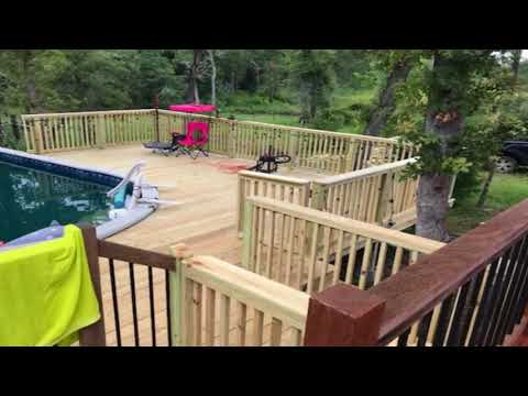 ATX Yankee Handyman- Pool Deck Project