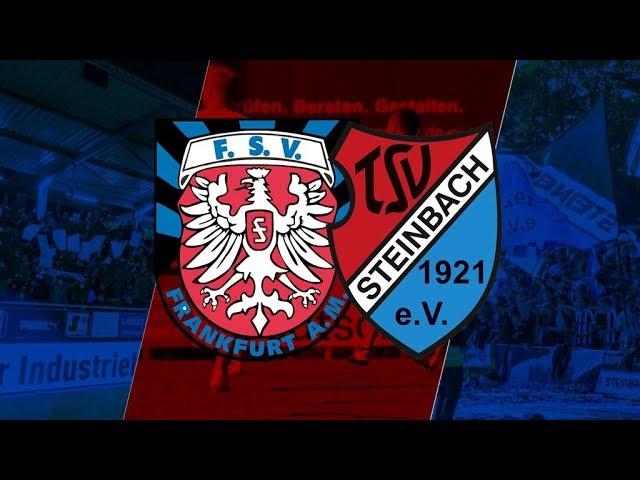 FSV Frankfurt - TSV Steinbach Haiger 1:4 (Regionalliga Südwest 2018-19)