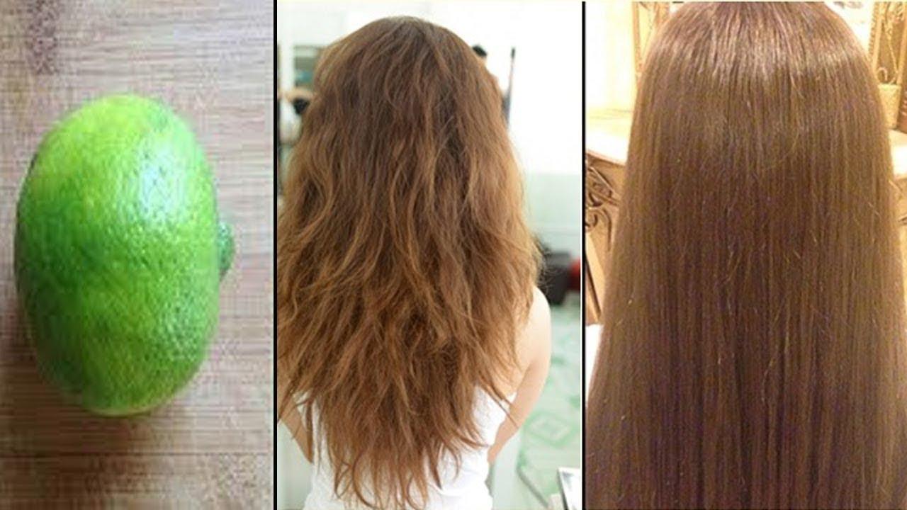 Đừng phí tiền duỗi tóc nữa, cứ lấy 1 quả chanh và làm cách này tóc sẽ thẳng tự nhiên lại mượt mà | Tổng hợp những kiến thức liên quan đến cách làm tóc không bị xoăn chuẩn nhất