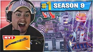 WINNER IN THE NEW FORTNITE SEASON 9!! * NEW SHOTGUN, NEW MAP AND TIER 100 SKIN-Fortnite Duo Win
