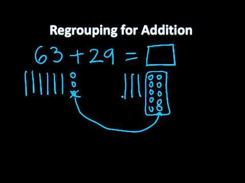 Regrouping for Addition for 2nd Grade