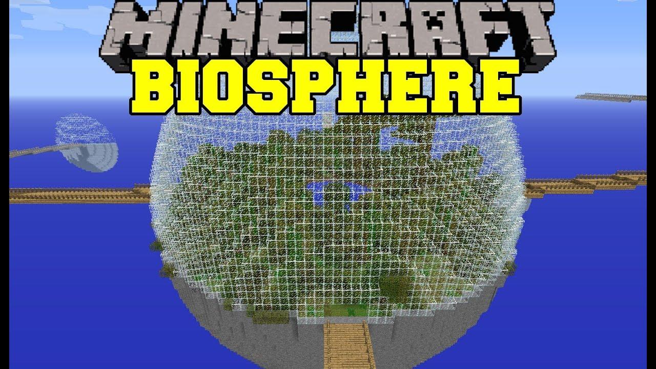 how to make an aquatic biosphere