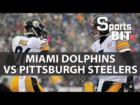 Miami Dolphins vs Pittsburgh Steelers Wild Card Game | Sports BIT | NFL Picks & Preview