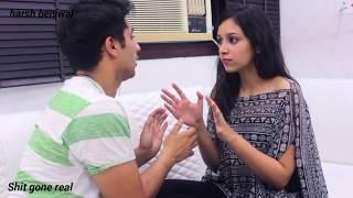harsh beniwal new video -How to break up || harsh beniwal vines 2017|| Shit gone Real