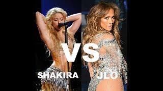 Shakira vs Jennifer Lopez. ¿Quien se mueve mejor? / Los mejores movimientos