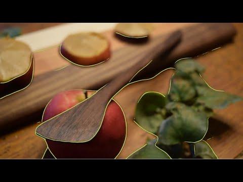 Making wooden utensils