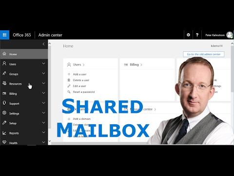 Create an Office 365 Shared Mailbox and Add to Outlook