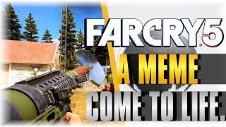 A MEME COME TO LIFE! | Far Cry 5 | WHITE COLLAR JOB EVENT