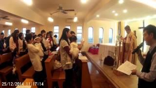 Publication Date: 2015-01-03 | Video Title: Agnes 聖誕節在聖母院書院小聖堂領洗
