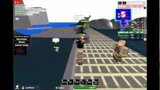 Roblox Paratroopers land and take base from a stonghold!