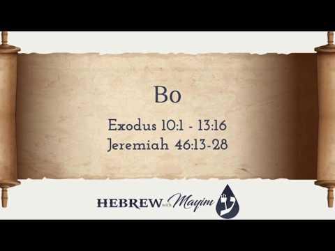 15 Bo, Aliyah 3 - Learn Biblical Hebrew