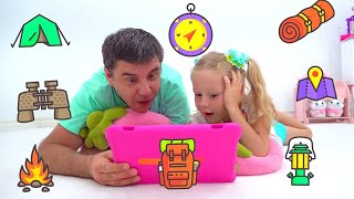 Stacy y papá divertidas series de viajes de aventura para niños