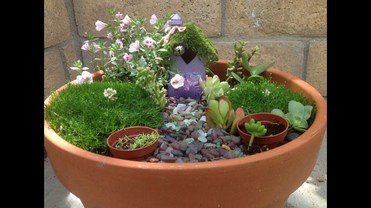 Ideas For Fairy Gardens 16 do it yourself fairy garden ideas for kids 1 Fairy Garden Ideas I Cool Fairy Garden Ideas