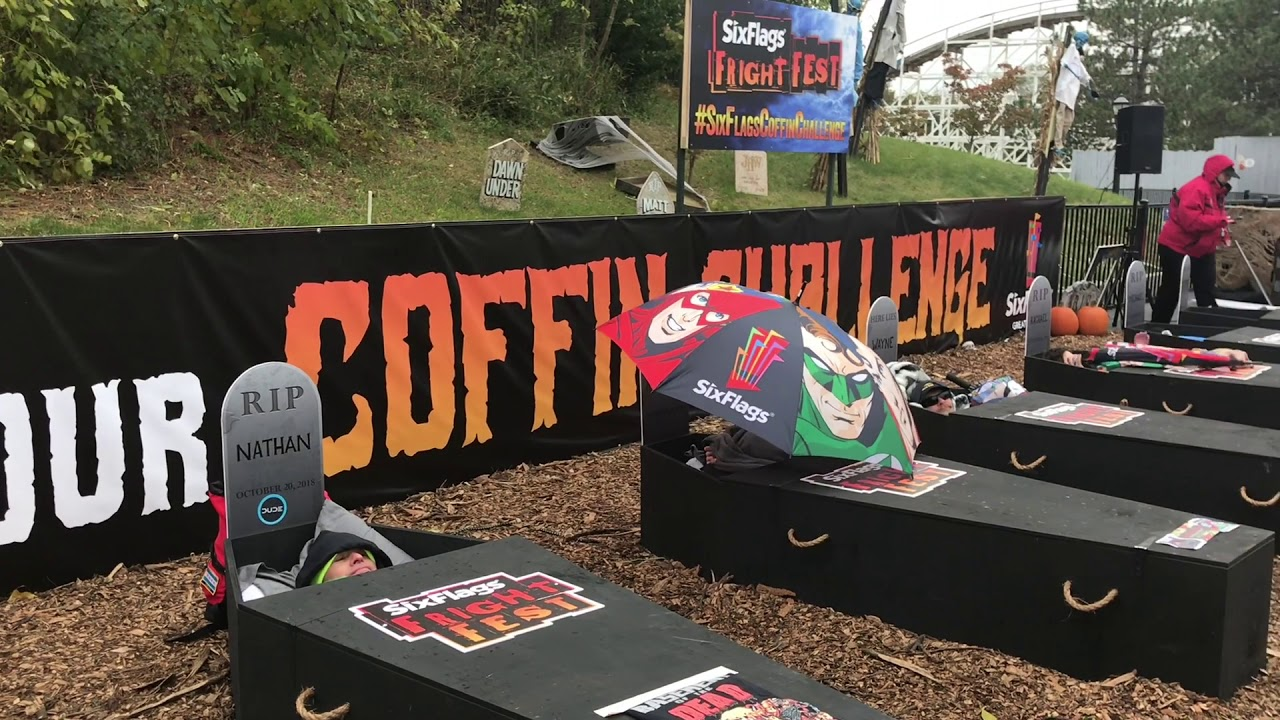 Six Flags Great Adventure 30 Hour Coffin Challenge 2018 Preview
