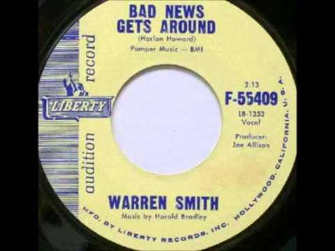 Warren Smith - Bad News Gets Around