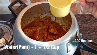 Chicken Biryani in Pressure cooker  Easy Chicken Biryani Recipe  Beginners Recipe DDC Recipes