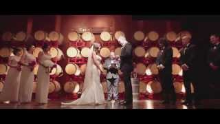 A & D - Cinematic Highlight wedding Music Video - Palm Event Center Pleasanton California