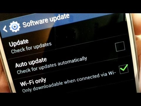 How To Check / Install Software Updates On Samsung Galaxy S4