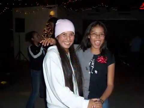 Christmas at Greyhills Academy High School - Tuba City, 2004