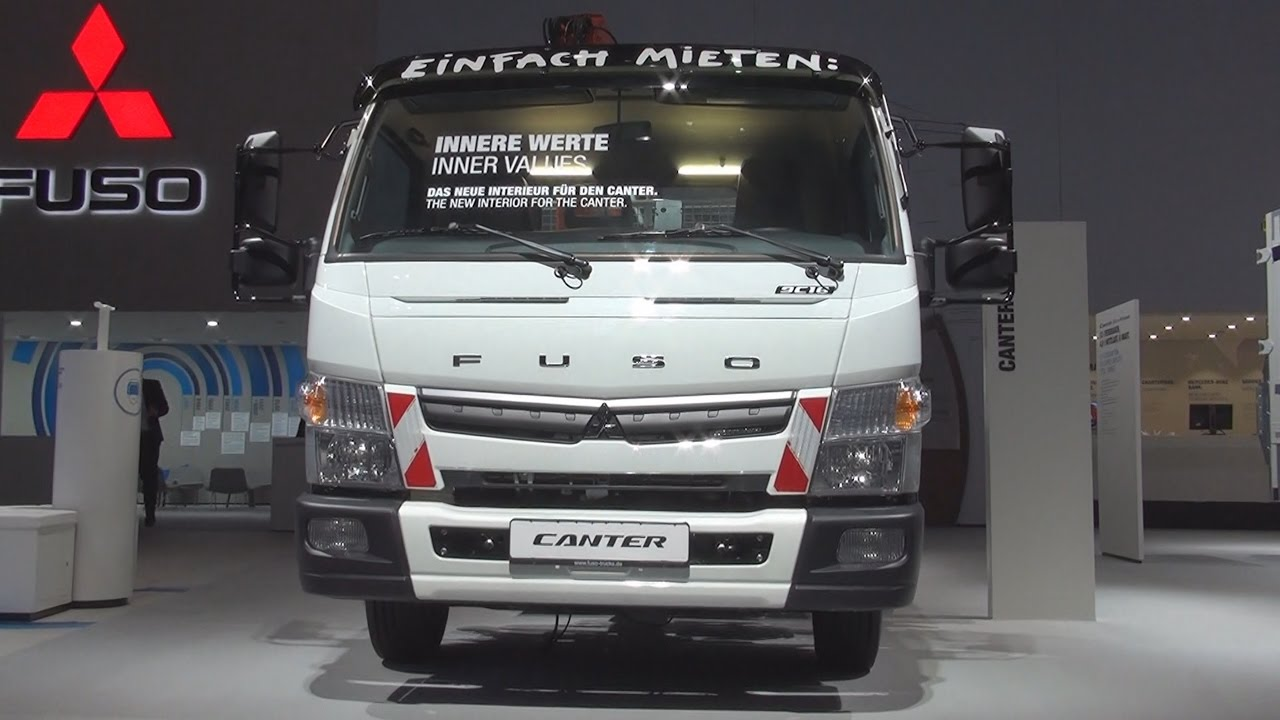 Mitsubishi Fuso Canter 9c18 Tipper Truck 2017 Exterior And Interior In