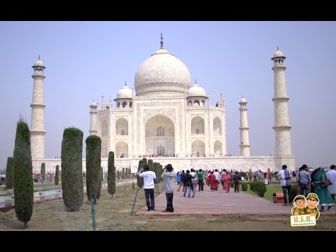 Taj Mahal, Fatehpur Sikri,  Agra - India ep..9