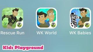 Wild Kratts Rescue Run, Wild Kratts World Adventure, Wild Kratts Baby Buddies