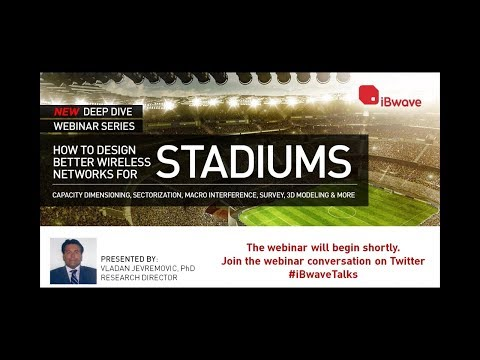 Deep Dive Webinars: How To Design Better Wireless Networks for Stadiums