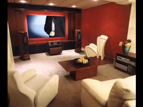 Home cinema room decorations-Decoration Ideas - YouTube