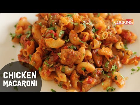 Chicken Macaroni Indian Style | Lunch-Box Recipe