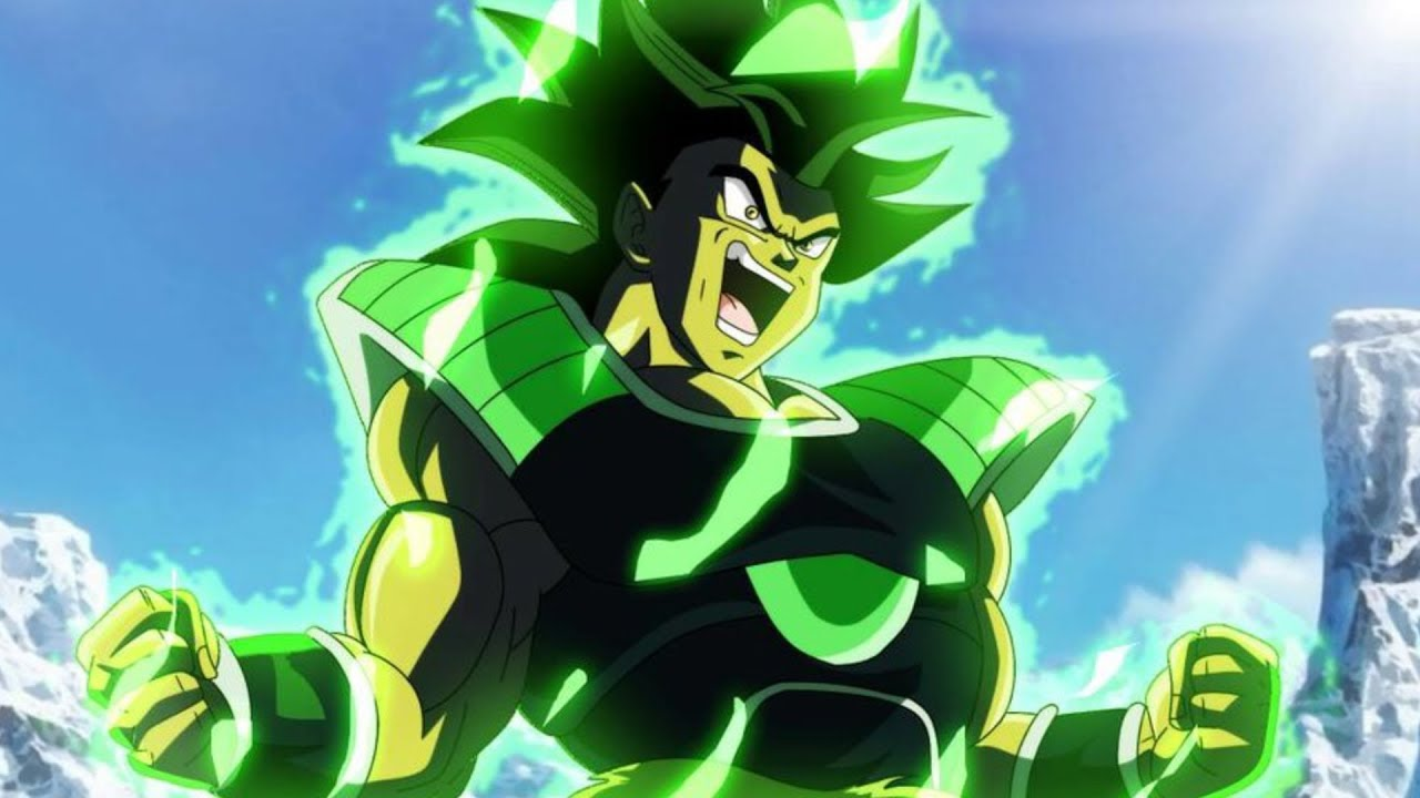 How To Make Anime Wallpaper Broly Revisited Dragon Ball Super Movie 2018 Youtube