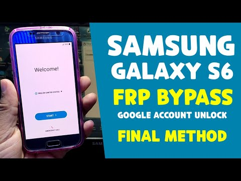 Samsung S6 (G920F) Frp Bypass Android 7.0 Youtube Update Fix Very Easy Method