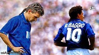 روبرتو باجو | أفضل لاعب في تاريخ إيطاليا - ذيل الحصان المقدس وأشهر ركلة جزاء ضائعة في التاريخ