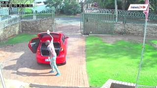 WATCH: Full view of the Edenvale burglary