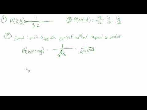 10.3: Define and use probability (sample problems)