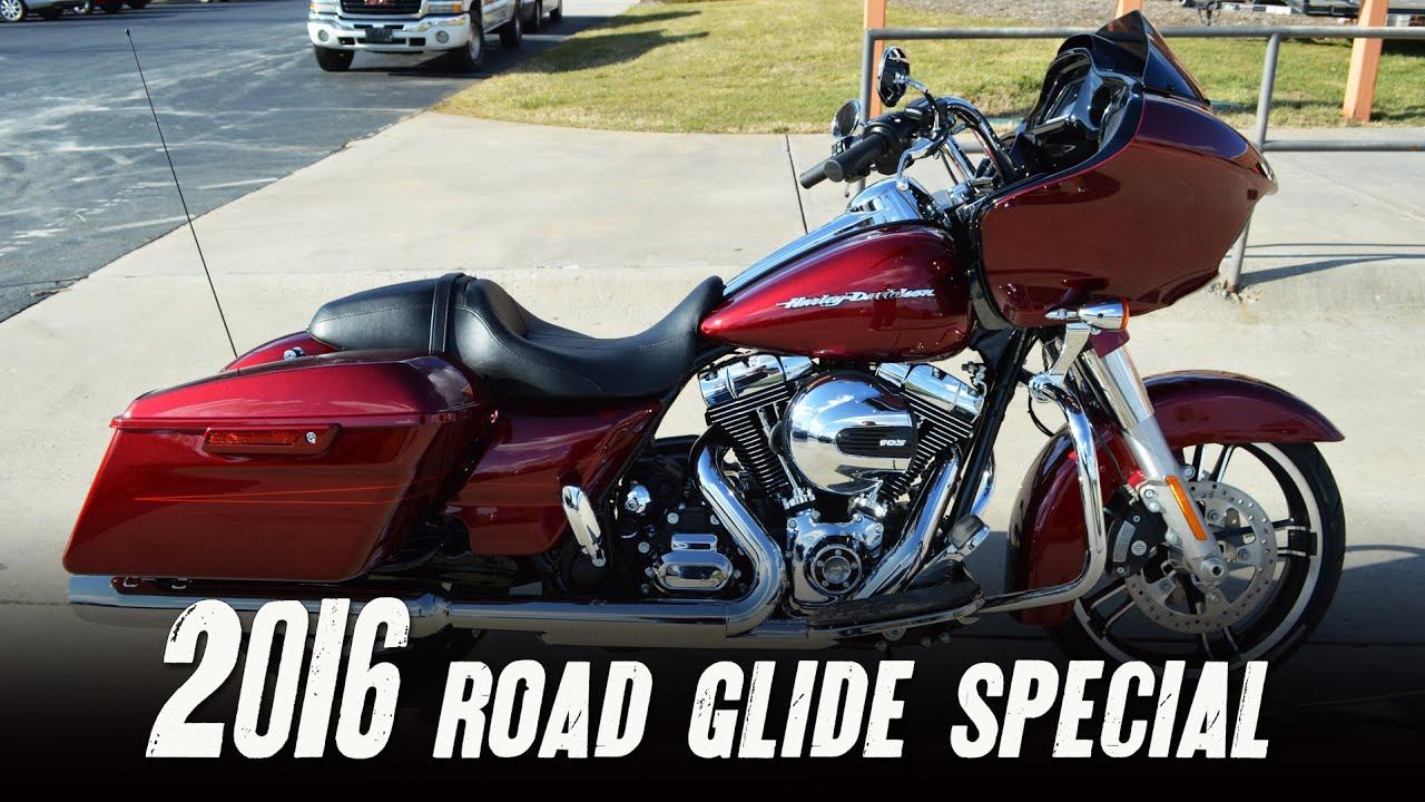 Download SOLD! 2016 Harley-Davidson® FLTRXS - Road Glide® Special Velocity Red Sunglo