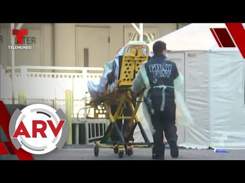 Policías, Bomberos Y Paramédicos De Nueva York Dan Positivo Al Covid-19 | Al Rojo Vivo | Telemundo