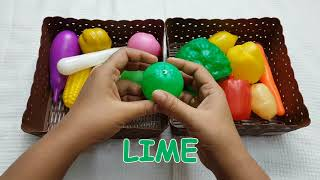 Learn Names of Vegetables With Toys | Kids Learning Vegetables | Preschool Learning