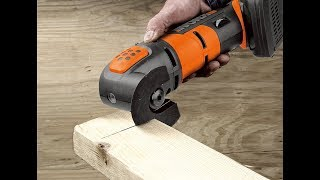 Review:  WORX WX682L 20V Oscillating Tool