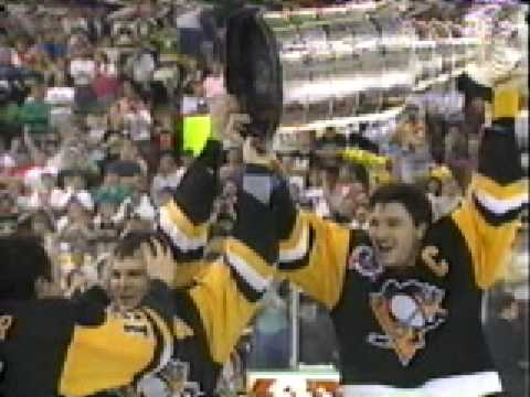 1990 1991 NHL Stanley Cup Playoffs Penguins At Their Peak Video Recap Part 1 Of 6