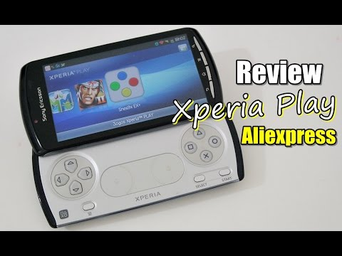 Review ALIEXPRESS: Celular Xperia Play (Original) - CompreiNoAli.