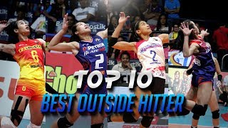 TOP 10 BEST OUTSIDE HITTERS in the Philippines (Women's Volleyball) [HD]